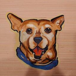 Dog Pancake Art