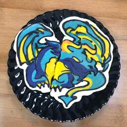 Dragon Pancake Art