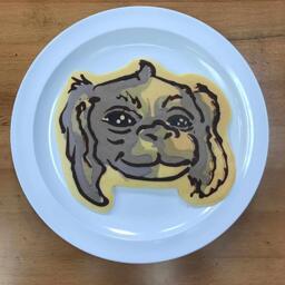 Falkor Pancake Art