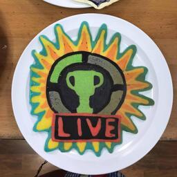 Game Theory Live Logo Pancake Art