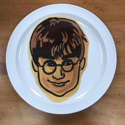 Harry Potter Pancake Art