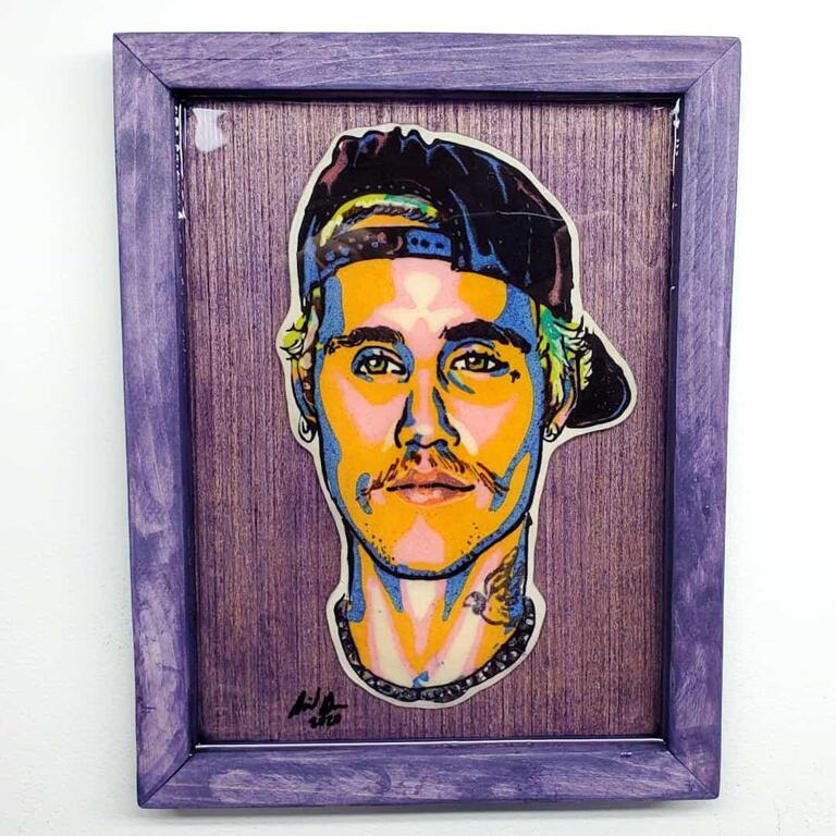 Justin Bieber Pancake Art