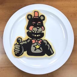 Lefty Pancake Art