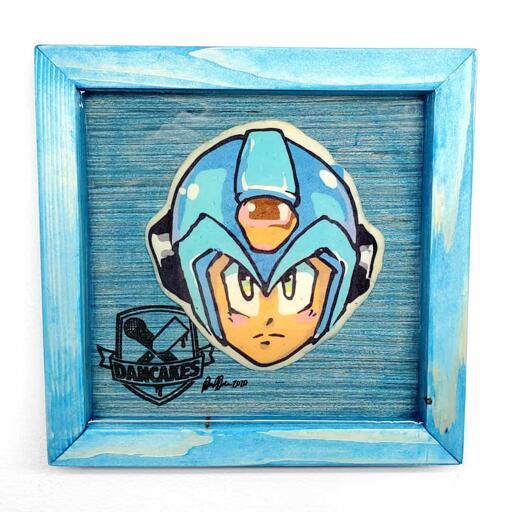 Megaman Preserved Pancake Art