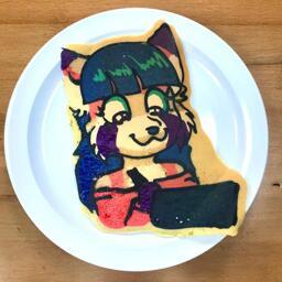 Original Character Pancake Art