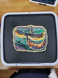Phoenix Pancake Art