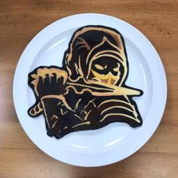 Scorpion Pancake Art