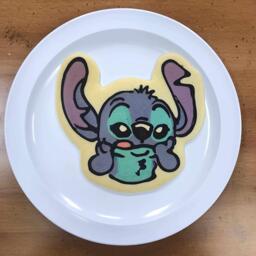Stitch Pancake Art