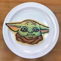 The Child Pancake Art