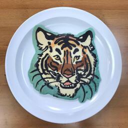 Tiger Pancake Art