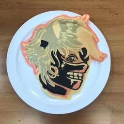 Tokyo Ghoul Pancake Art
