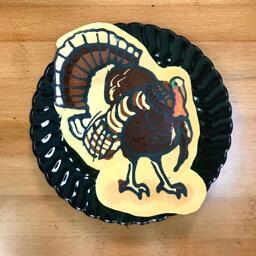 Turkey Pancake Art