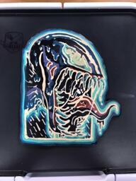 Venom Pancake Art