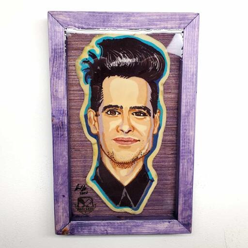 Brendan Urie Pancake Art