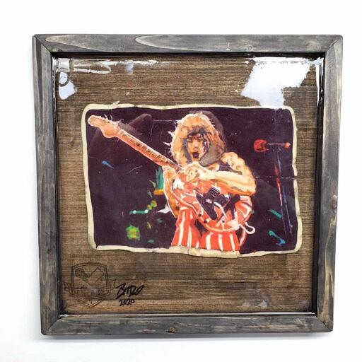Eddie Van Halen Pancake Art