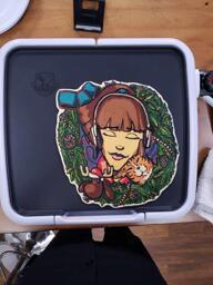 Lofi Girl Original Design Pancake Art