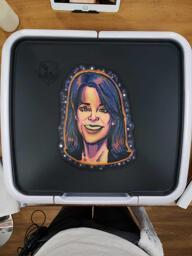 Marianne Williamson Pancake Art