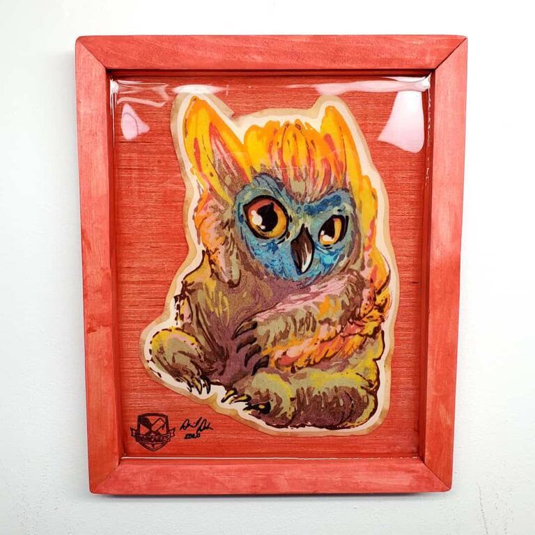 Owlbear (Dungeons and Dragons) Pancake Art