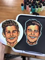 Shawn Mendez Pancake Art