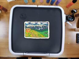 Wella's First Freehand Pancake Art