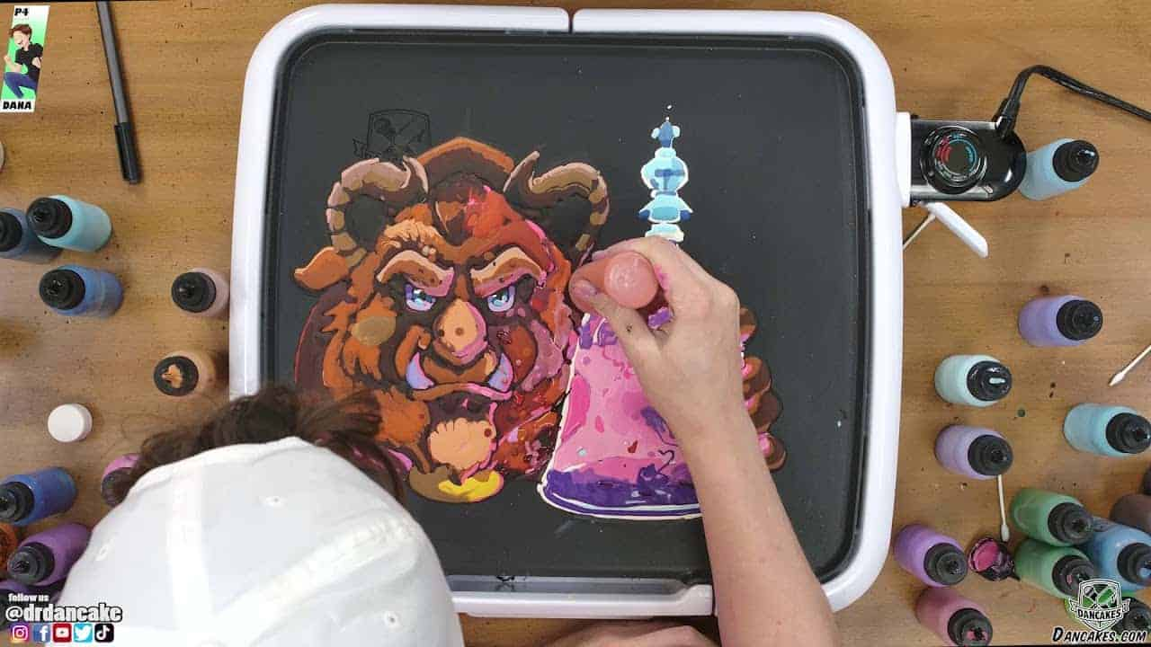 Beast (Beauty and the Beast) Pancake Art
