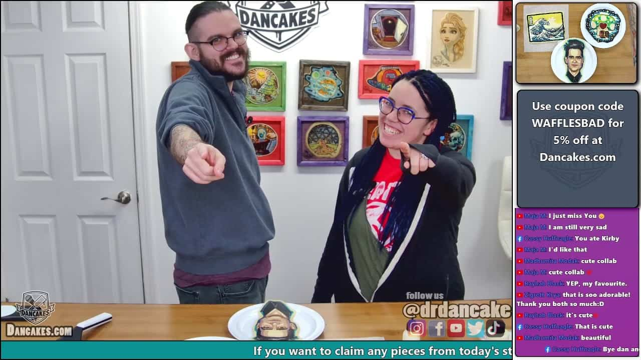Come hang out with me while I make pancake art | chill relaxing art | Joy of Pancakes ep. 37