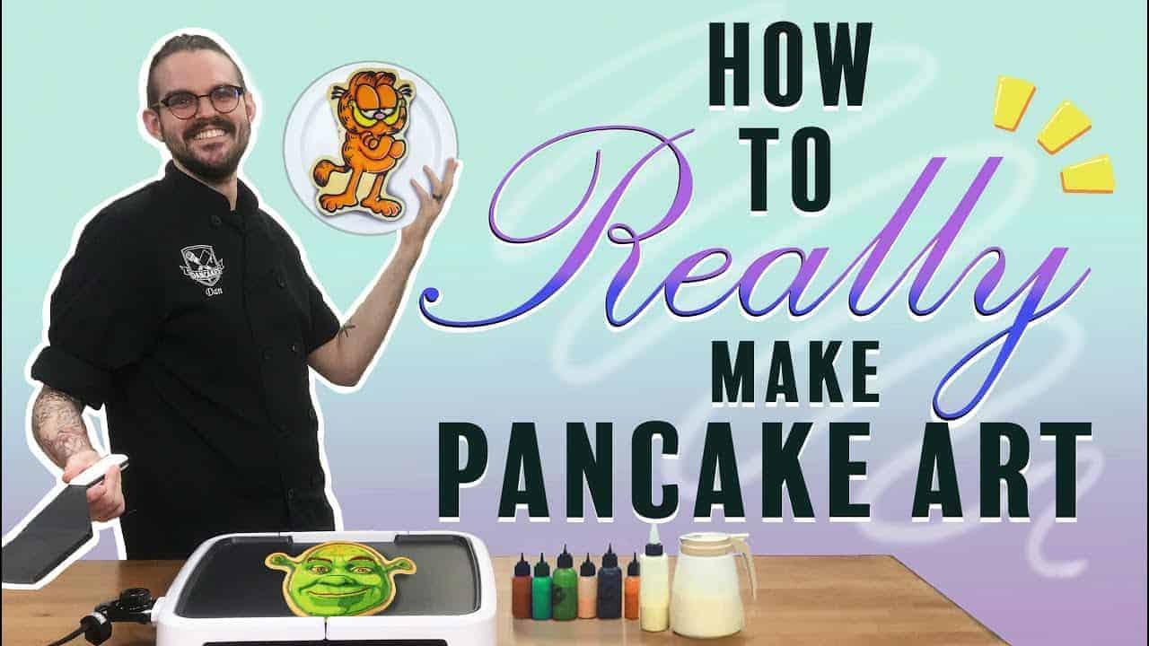 Dancakes 101 - The Best Way To Make Pancake Art 🥞👨🎨