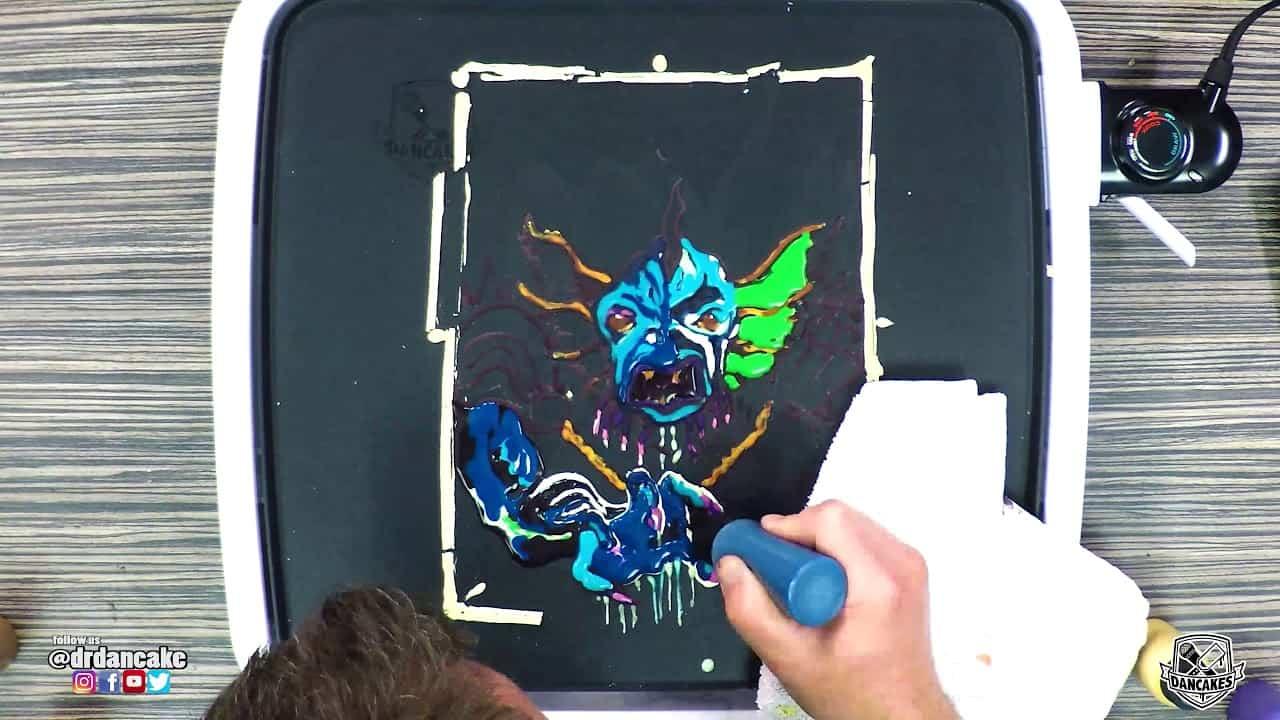 DnD Sahuagin Pancake Art (Dungeons and Dragons)