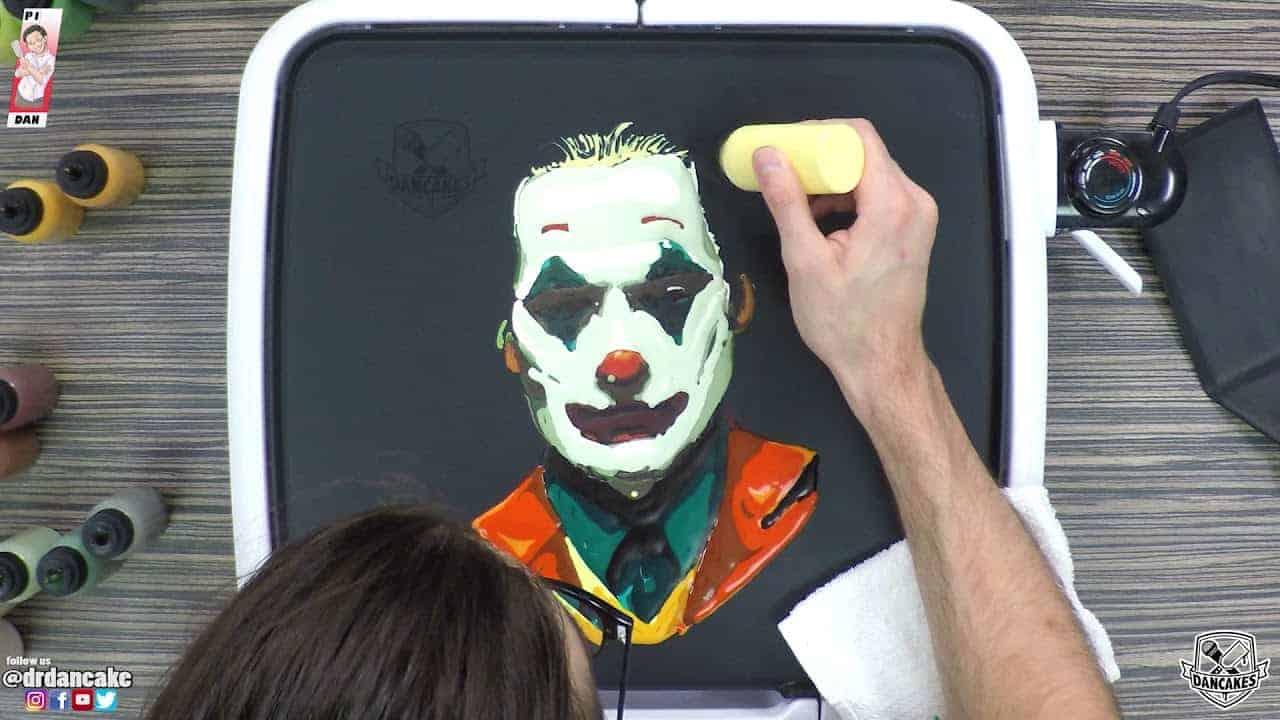 Joker Pancake Art