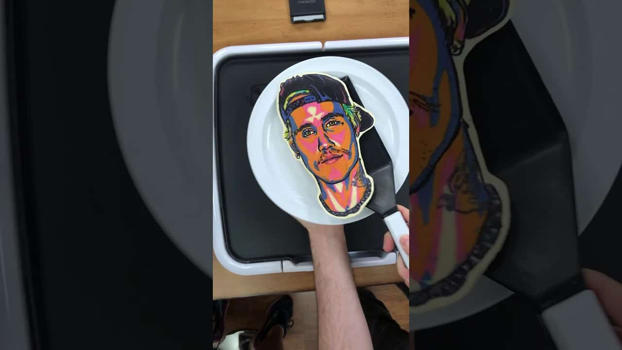 Justin Bieber's Pancake is so lonely #shorts