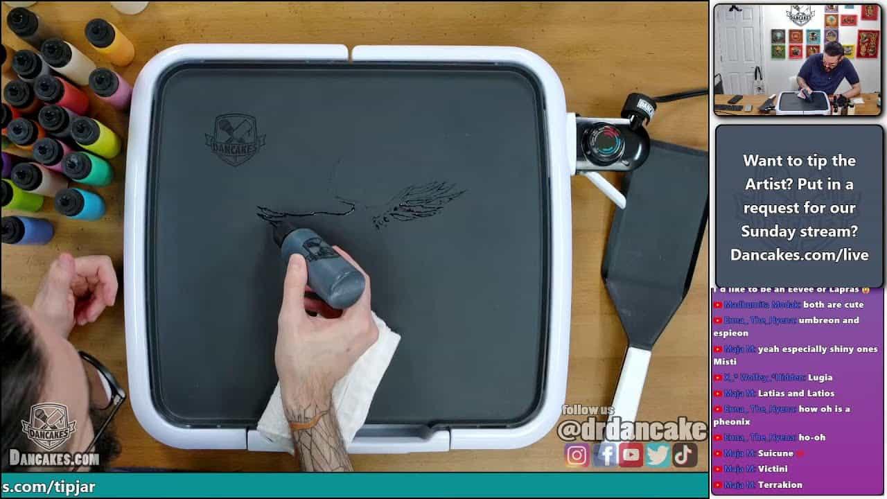 LIVE Chill pancake art and quizzical rambling with Dr. Dan | Joy of Pancakes ep. 31
