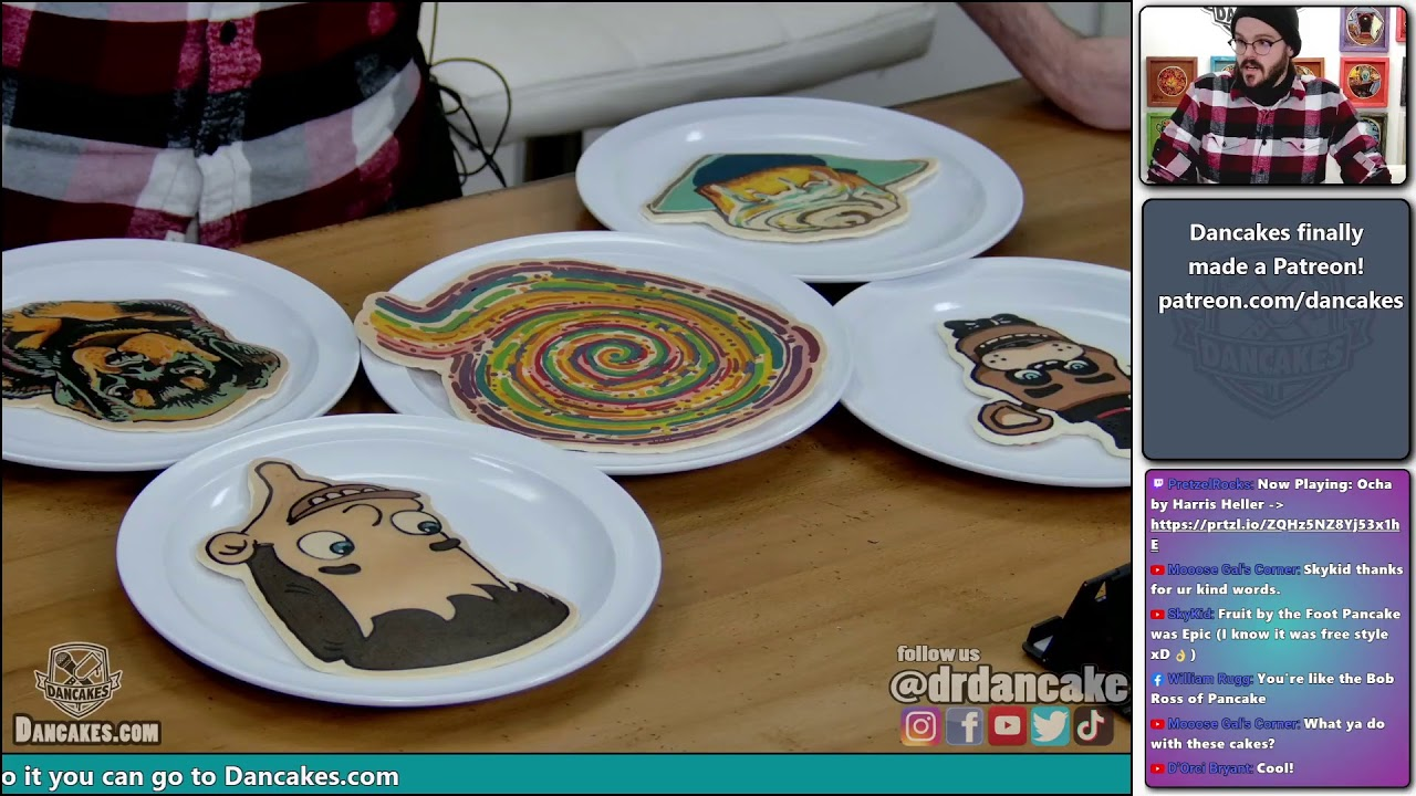 What should I make? | Lo fi hip hop pancake art to relax / chill to | Joy of Pancakes ep. 49