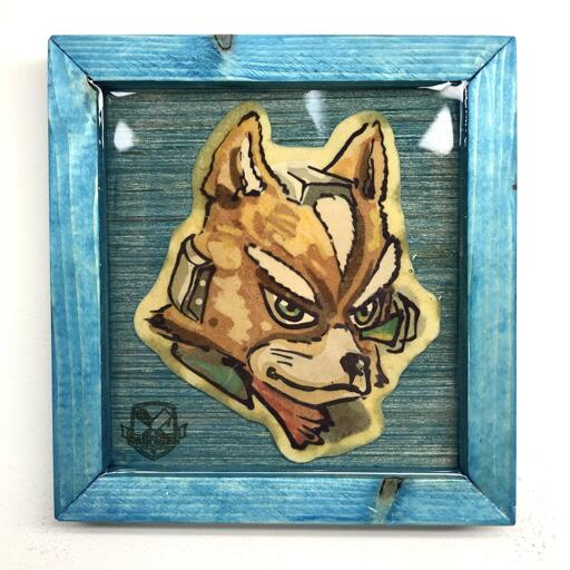 Fox McCloud preserved pancake art