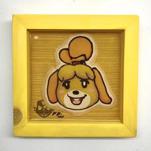 Isabelle 2 preserved pancake art